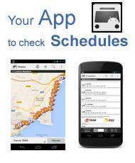 Check the TRAM timetables in your Android